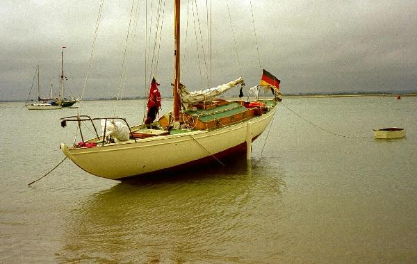 Rusalka at Chichester Harbour